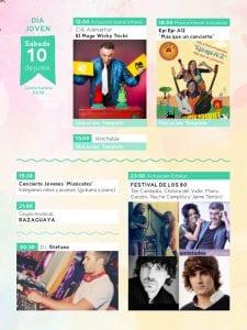Fiestas de San Antonio de la Florida 2017 | Parque de la Bombilla | Moncloa-Aravaca | Madrid | 09 al 13/06/2017 | Programa sábado 10 de junio | Día Joven