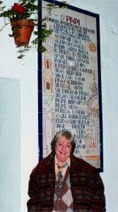 Gloria Fuertes | Poeta y escritora | Madrid, 28/07/1917 - 27/11/1998 | | El Pimpi (Málaga)