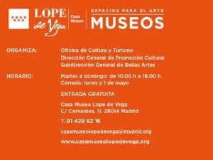 'Mujeres y criados'   Teatreo   Casa Museo Lope de Vega   17/06 y 01/07/2017   Barrio de las Letras   Madrid   Espacios para el Arte   Museos