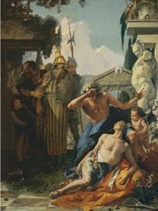 Museo Thyssen-Bornemisza en el World Pride Madrid 2017 | 'Amor diverso' | 'La muerte de Jacinto' | c. 1752-1753 | Giambattista Tiepolo | ©Museo Thyssen-Bornemisza | Madrid