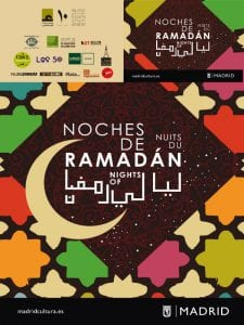 Noches de Ramadán | 10 al 25 de junio de 2017 | Madrid | Cartel