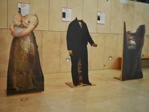 Ruta 2 de Mayo | A.C. Vive Malasaña | Barrio de Malasaña | Madrid | Verano 2017 | 3 personajes