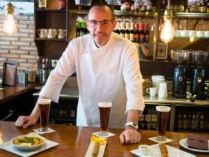 Cata de cervezas belgas con maridaje gourmet | Restaurante Gourmand Atelier Belge | 06/07/2107 | Chamberí | Madrid | Etienne Bastaits