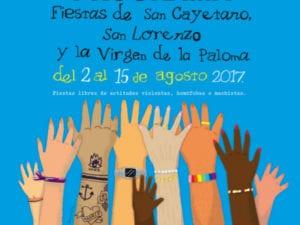Fiestas de San Cayetano, San Lorenzo y La Paloma 2017 | 02-15/08/2017 | Centro | Madrid | Fiestas libres de actitudes violentas, homófobas o machistas
