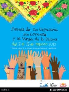 Fiestas de San Cayetano, San Lorenzo y La Paloma 2017 | Centro - Madrid | 02 - 15/08/2017 | Cartel