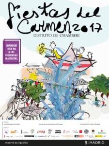 Fiestas del Carmen en Chamberí 2017 | 07 - 16/07/2017 | Chamberí | Madrid | Cartel