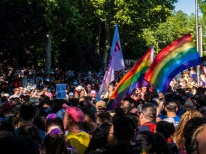World Pride Madrid 2017 | Manifestación y desfile de carrozas Orgullo Gay 2017 | 01/07/2017 | Foto Pablo Rentería/Cicerone Plus