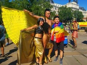 World Pride Madrid 2017 | Manifestación y desfile de carrozas Orgullo Gay 2017 | 01/07/2017 | | Participantes | Foto Pablo Rentería/Cicerone Plus