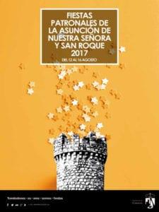 Fiestas Asunción de Nuestra Señora y San Roque 2017 | Torrelodones | Comunidad de Madrid | 12 al 16/08/2017 | Cartel