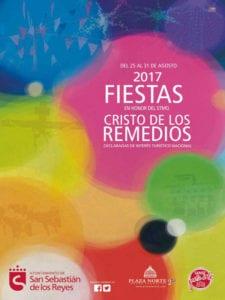 Fiestas del Cristo de los Remedios 2017 | San Sebastián de los Reyes | Comunidad de Madrid | 25 - 31/08/2017 | Cartel