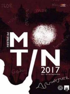 Fiestas del Motín 2017 | Aranjuez | Comunidad de Madrid | 01-04/09/2017 | Cartel