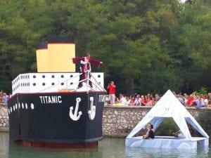 Fiestas del Motín 2017 | Aranjuez | Comunidad de Madrid | 01-04/09/2017 | Descenso Pirata del Tajo