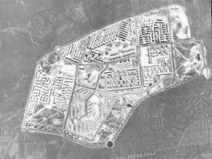 Gran San Blas | Plan de Urgencia Social de Madrid 1957 | Obra Sindical del Hogar | Vista aérea años 60