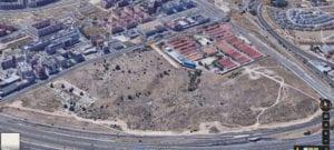 Parcela Norte-Las Tablas futuro bosque urbano | Fuencarral-El Pardo | Madrid | Vista aérea Google Maps | Fuente Ayuntamiento de Madrid