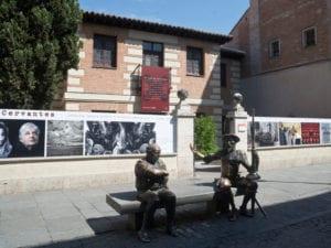 Ruta teatralizada 'En un lugar llamado Alcalá' | Sábados 05/08 al 02/09/2017 | Museo Casa Natal de Cervantes | Alcalá de Henares | Comunidad de Madrid | Don Quijote y Sancho Panza