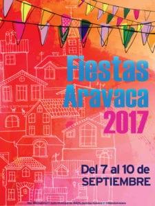 Fiestas de Aravaca 2017 | Moncloa-Aravaca | Madrid | 07-10/09/2017 | Cartel