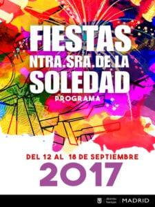 Fiestas de Nuestra Señora de la Soledad 2017 | Barajas | Madrid | 12-18/09/2017 | Cartel