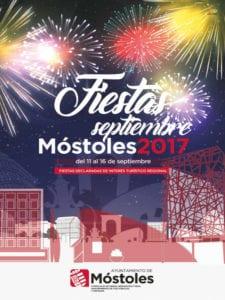Fiestas de Septiembre Móstoles 2017 | 11-16/09/2017 | Móstoles | Comunidad de Madrid | Cartel