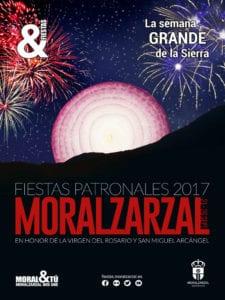 Fiestas Patronales de Moralzarzal 2017 | La Semana Grande de la Sierra | 21-26/09/2017 | Moralzarzal | Comunidad de Madrid | Cartel