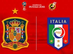 FIFA Word Cup Rusia 2018 | España - Italia | Partido clasificación Grupo G | Estadio Santiago Bernabéu | Madrid | 02/09/2017