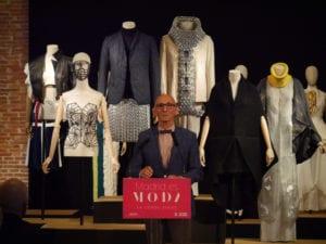Madrid es Moda 2017 | Centro Cultural Conde Duque | 08-26/09/2017 | Madrid | El diseñador Modesto Lomba en la presentación