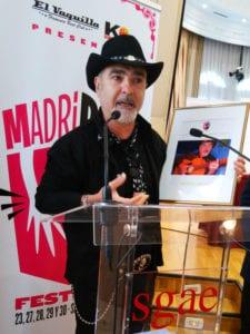 MadriRumba Festival | 23-30/09/2017 | Madrid | Manuel Malou, Premio Ventilador 2017 | Presentación SGAE