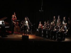 Conciertos noviembre 2017 en Bogui Jazz | Chueca - Centro - Madrid | Sheila Blanco & Mad Sax Big Band | 18/11/2017