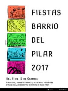Fiestas del Barrio del Pilar 2017 | Fuencarral-El Pardo | Madrid | 11-15/10/2017 | Cartel