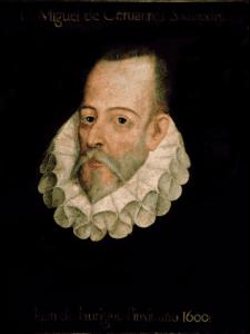 Retrato de Miguel de Cervantes Saavedra   Atribuido a Juan de Jauregui   Real Academia Española   Madrid