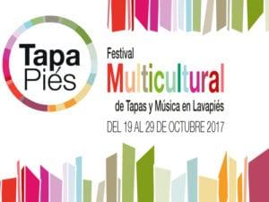 Tapapiés 2017 | 7ª Ruta Multicultural Tapas y Música en Lavapiés | 19-29/10/2017 | Lavapiés | Madrid