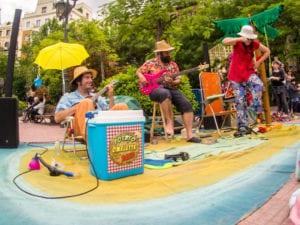 Todos los conciertos en Tapapiés 2017 | 7ª Ruta Multicultural Tapas y Música en Lavapiés | 19 al 29/10/2017 | Lavapiés | Madrid | Potato Omelette Band