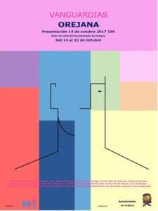'Vanguardias' | Muestra homenaje a las vanguardias artísticas contemporáneas | Orejana (Segovia) | 14-22/10/2017 | Madrización | Cartel