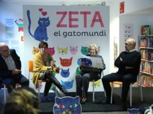 Yo soy Zeta | Brands&Roses | Ayuntamiento de Madrid | Libro de bienvenida para los bebés de Madrid | Manuela Carmena en la presentación