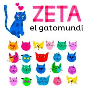 Yo soy Zeta | Brands&Roses | Ayuntamiento de Madrid | Libro de bienvenida para los bebés de Madrid | Zeta el gatomundi