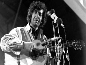 'Cantor del fuego sagrado' | Homenaje Poético Musical a Leonard Cohen | 22/11/2017 | Sala Clamores | Madrid | En directo años 70