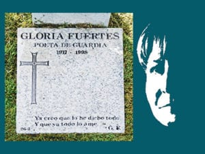 Centenario Gloria Fuertes | 1917-1998 | #gloriafuertes100 | El balcón de Gloria Fuertes | 27/11/2017 | Poeta de Guardia