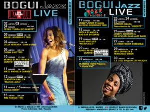 Conciertos noviembre 2017 en Bogui Jazz | Chueca - Centro - Madrid | Cartel programación