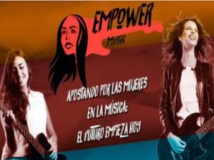 Empower Music | Ayuntamiento de Fuenlabrada, Radio 3 y Mujeres de la Industria de la Música | Fuenlabrada | Comunidad de Madrid | Apostando por las mujeres en la música