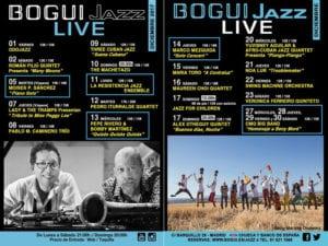 Conciertos diciembre 2017 en Bogui Jazz | Chueca - Centro - Madrid | Cartel programación