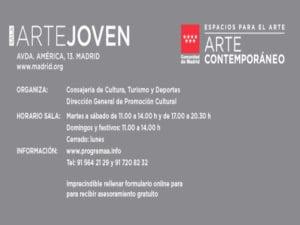 Asesoría gratuita para artistas y comisarios jóvenes | Programa A | Comunidad de Madrid | Sala Arte Joven | Espacios para el Arte