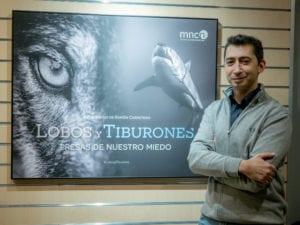 Exposición 'Lobos y tiburones. Presas de nuestro miedo' de Ramón Carretero en el MNCN | Madrid | 23/01 - 01/04/2018 | Ramón Carretero