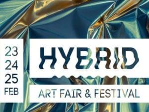 Madrid Capital del Arte   Semana del Arte de Madrid   Hybrid Art Fair & Festival   Cartel 2018