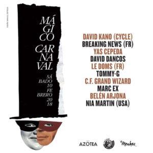 Mágico Carnaval | Baile de Máscaras 2018 del Círculo de Bellas Artes | 10/02/2018 | Madrid | Actuaciones | Diseño Manuel Estrada