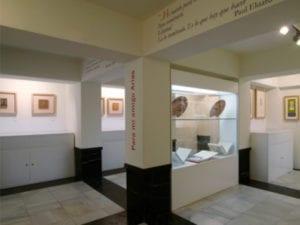 Mascarada Picassiana | Carnaval en el Museo Picasso-Colección Eugenio Arias | 11/02/2018 | Buitrago del Lozoya | Comunidad de Madrid | Interior museo