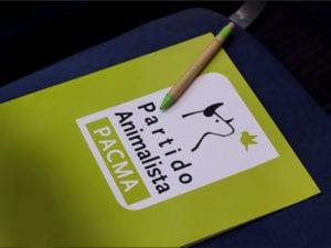 Partido Animalista al Parlamento Europeo | Acreditación | Asamblea PACMA | 24/03/2018 | Madrid