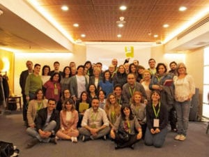 Partido Animalista al Parlamento Europeo | Foto de grupo | Asamblea PACMA | 24/03/2018 | Madrid