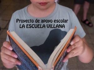 Proyecto de apoyo escolar La Escuelita de la Villana | Centro Social La Villana de Vallecas | Puente de Vallecas | Madrid | Cartel