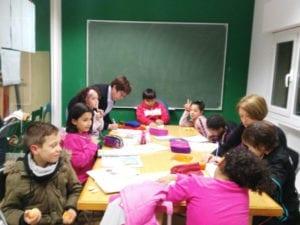 Proyecto de apoyo escolar La Escuelita de la Villana | Centro Social La Villana de Vallecas | Puente de Vallecas | Madrid | ¡Colabora y apoya!