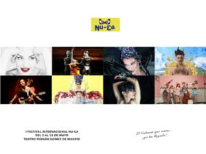 1er Festival Internacional NU-CA | Fernán Gómez-Centro Cultural de la Villa | Madrid | 03 al 13/05/2018