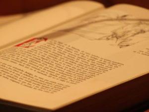 22ª Lectura Continuada del Quijote en el Círculo de Bellas Artes de Madrid | 23-25/04/2018 | 1ª página de El ingenioso hidalgo don Quijote de la Mancha